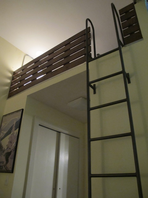 Loft ladder - Ladders for decorating stairs ...