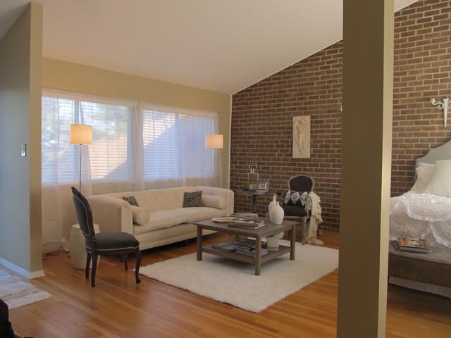Loft Living #2 eclectic-bedroom