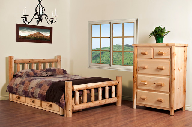 Log Furniture Traditional Bedroom Toronto By Log Furniture And More