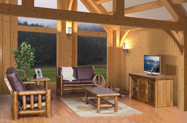 Log Furniture traditional-bedroom