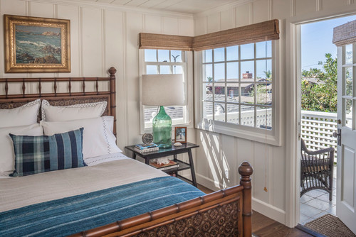 bedroom lighting ideas ceiling colonys - Tour a Charming Beach Cottage Town & Country Living