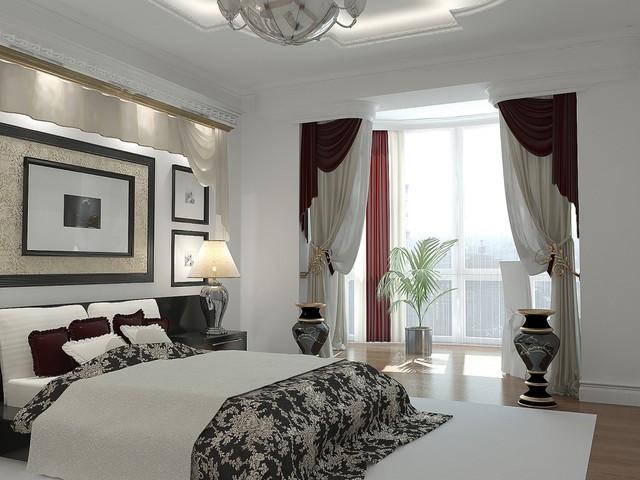 Lompier Interior Group contemporary-bedroom