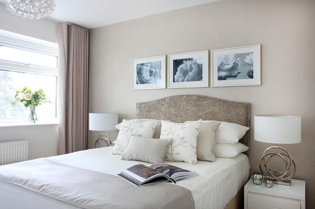 London apartment for LLI Design transitional-bedroom