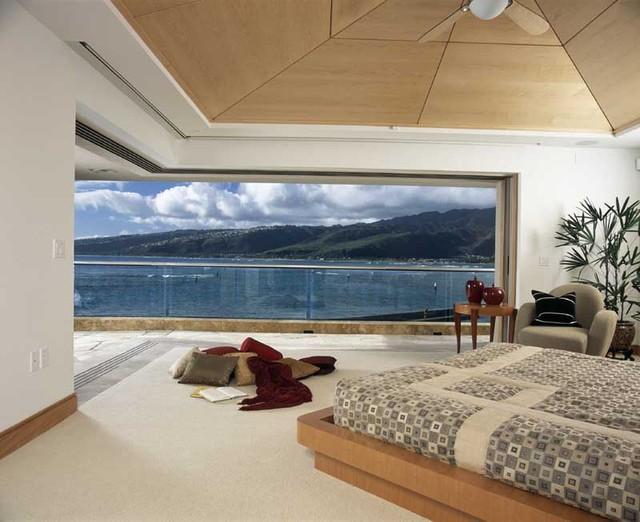 Long & Associates, AIA tropical-bedroom