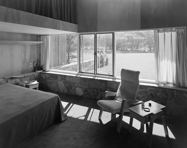 modern bedroom Long Island Modernism 1930-1980