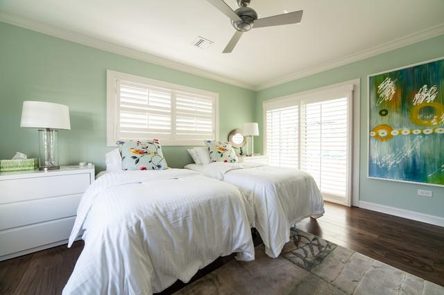 Longboat Key Contemporary Coastal Residence 1 Contemporary Bedroom