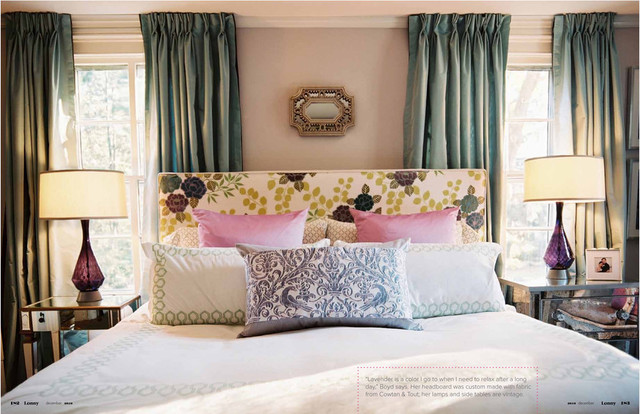 Lonny Magazine contemporary bedroom