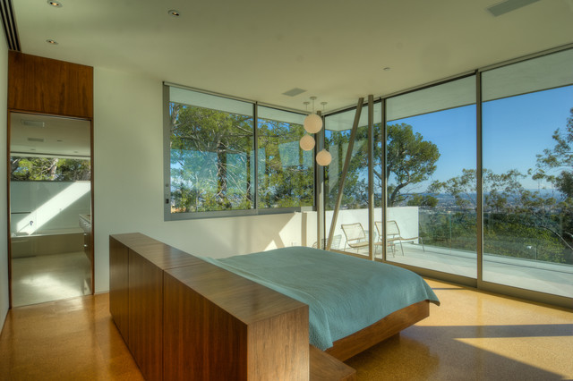 Lookout Residence Modern Bedroom Los Angeles By
