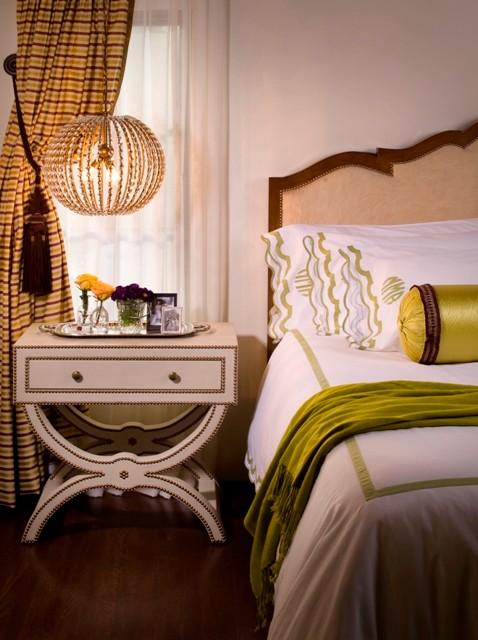 Lori Dennis Interior Design mediterranean-bedroom