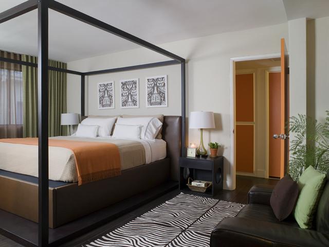 Lori Dennis Interior Design contemporary-bedroom