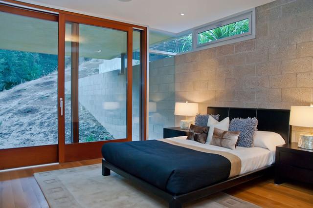 Los Altos California contemporary-bedroom