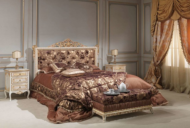 Louis XVI Bedroom Furniture - Victorian - Bedroom - New York - by ...