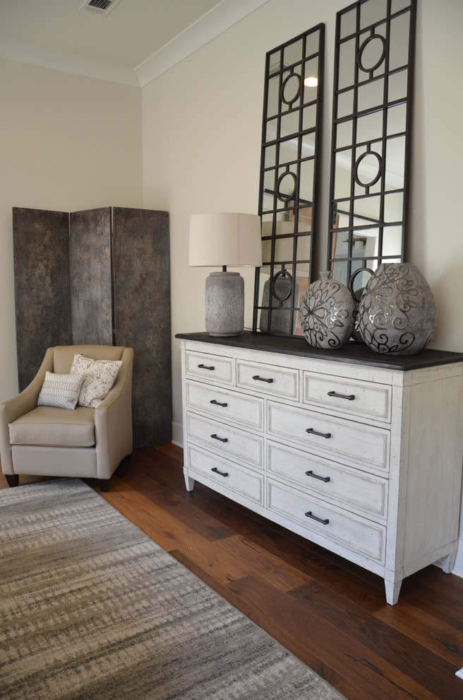 Inspiration for a transitional bedroom remodel in New Orleans