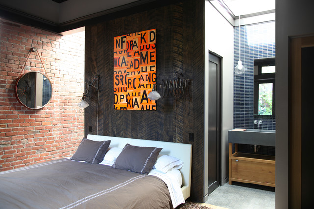 Lovell bedroom industrial bedroom san francisco by for Lads bedroom ideas