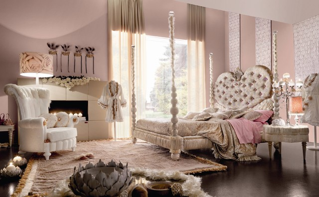 Lovely Pink Bedroom by Imagine Living eclectic bedroom