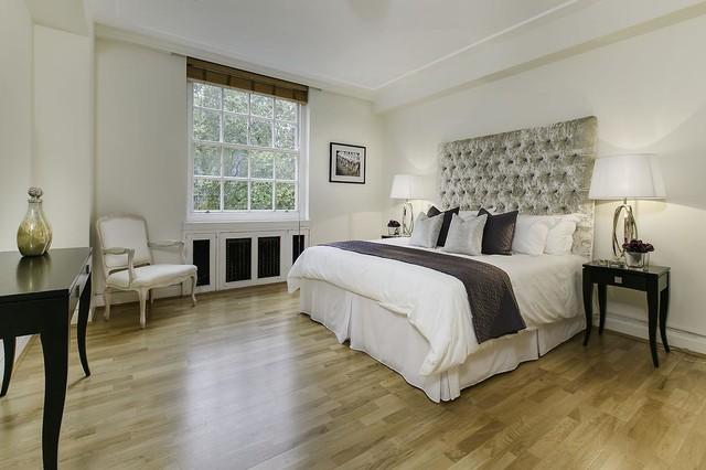 Lowndes Square London Apartment classico-camera-da-letto