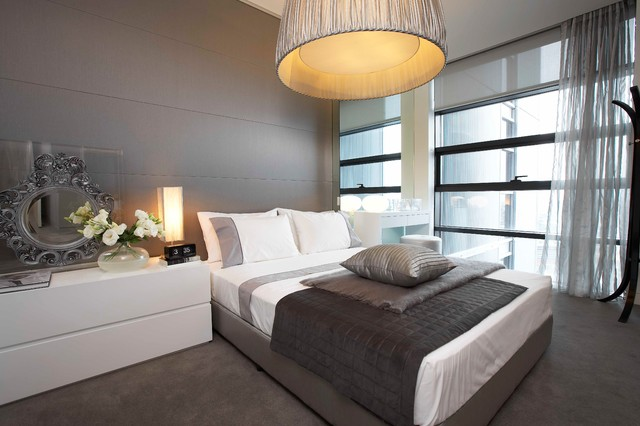 Lumiere apartment sydney contemporary bedroom for Apartment design sydney