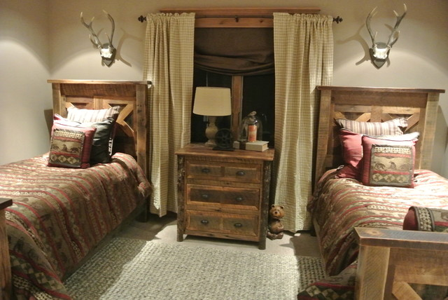 Luxe Hunting Lodge - Rustic - Bedroom - Other - by The ...