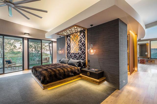 LUXE LODGE - Master Suite - Contemporary - Bedroom - Los ...