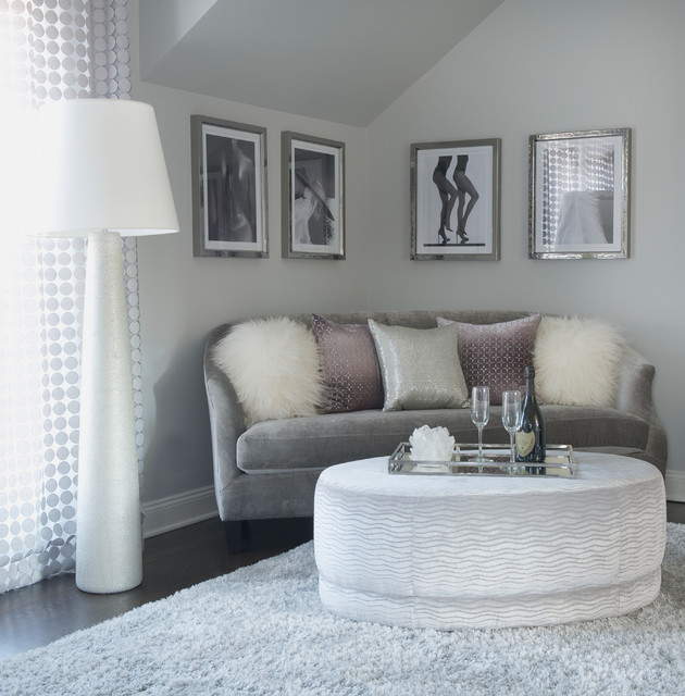 modern glam transitional bedroom new york by susan