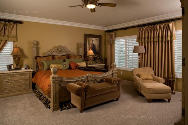 luxurious master bedroom klassisch schlafzimmer las. Black Bedroom Furniture Sets. Home Design Ideas