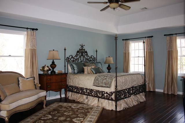 Luxurious Master Bedroom Traditional Bedroom New York By Iris Interiors