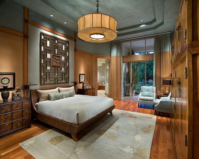 Luxurious Zen Resort - Paradise Valley - Asiático - Dormitorio ...