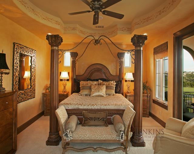 Luxury Bedroom in our Showcase Home mediterranean-bedroom