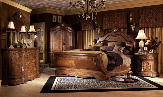 Luxury Bedroom - Traditional - Bedroom - other metro - by Moshir ...