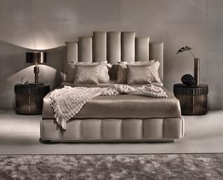 Camere Da Letto Contemporanee Signorini E Coco.Luxury Feminine Bedroom With Upholstered Bed By Signorini Coco