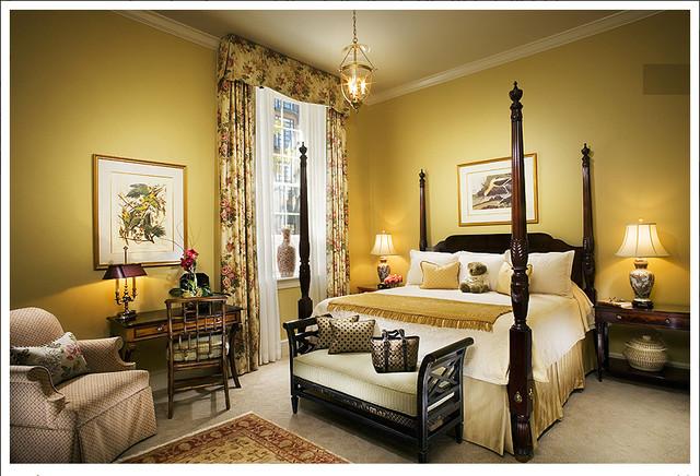 Luxury Hotel Rooms At Plantersinn.com traditional-bedroom