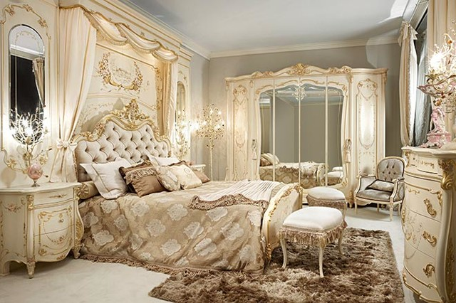 Luxury Italian Living by Gimo - Traditional - Bedroom - New York ...