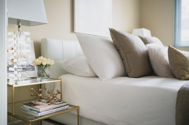 contemporary 2 bedroom suite contemporary bedroom los angeles