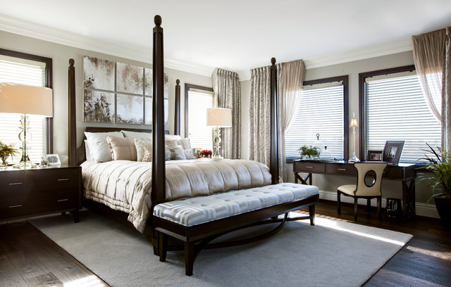 Luxury Master Bedroom: Robeson Design - Transitional ... - photo#18