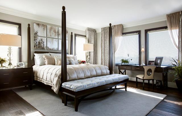 Robeson design master bedroom transitional bedroom san diego