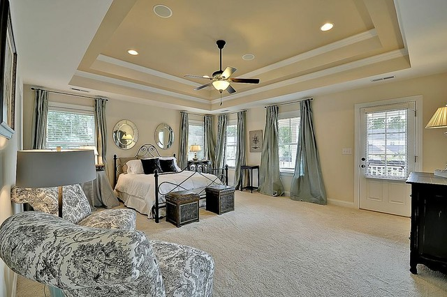 Luxury Master Suite Transitional Bedroom Charleston By Sabal Homes