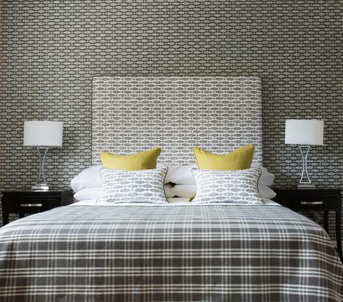 デザインが面白い寝室の施工事例