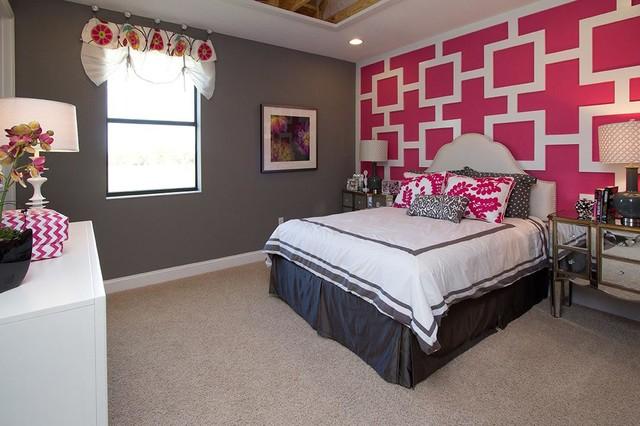 M/I Homes of Orlando: Lake Drawdy Reserve - Grandview Model transitional-bedroom