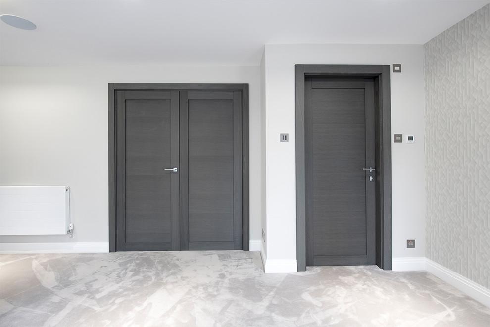 Spiksplinternieuw Made to measure grey internal doors   Deuren - Modern - Bedroom IX-95