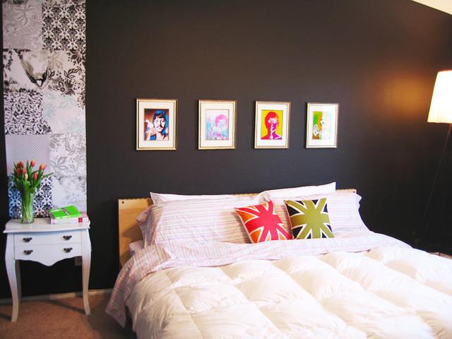 Example of a trendy bedroom design in Las Vegas