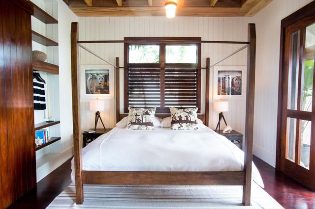 Mahogany Bay, Belize beach-style-bedroom