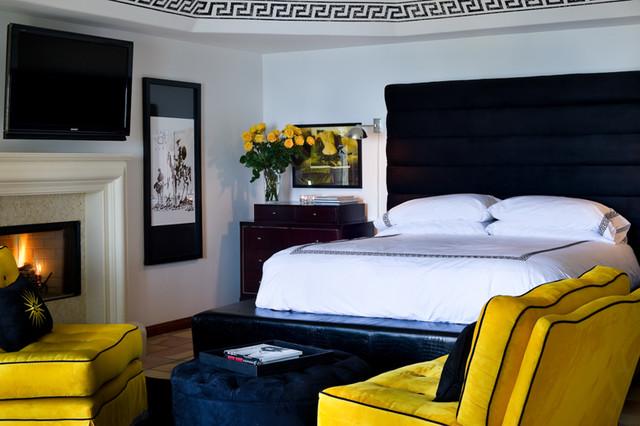 Malibu Mediterranean mediterranean-bedroom