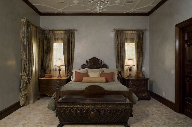 Malinard Manor - Guest Room traditional-bedroom