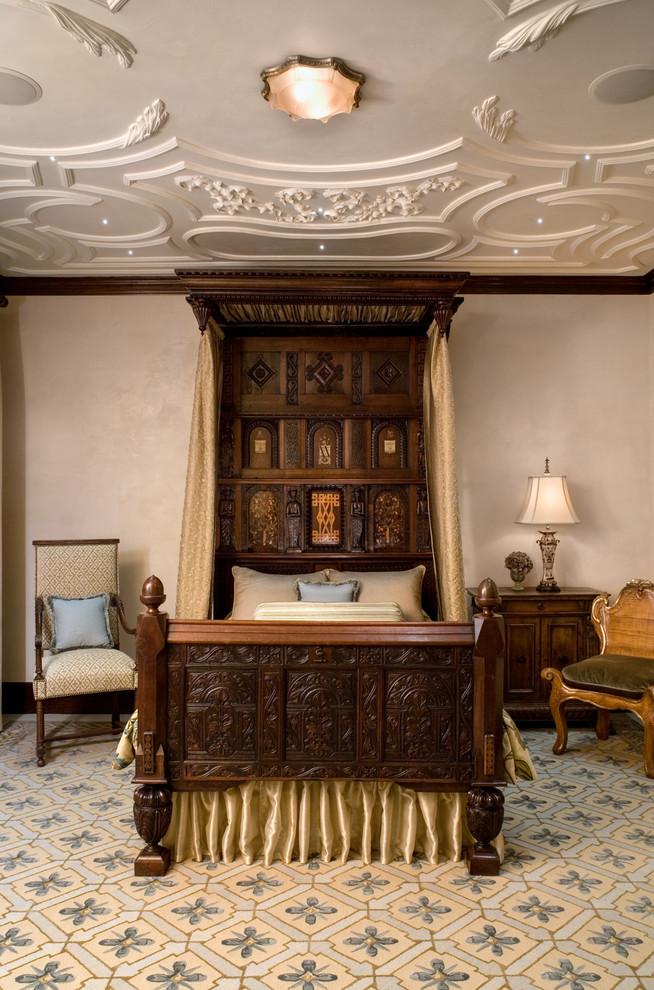 malinard manor  guest suite  traditional  bedroom