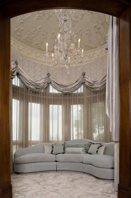 Malinard Manor - Master Bedroom Sitting Area traditional-bedroom