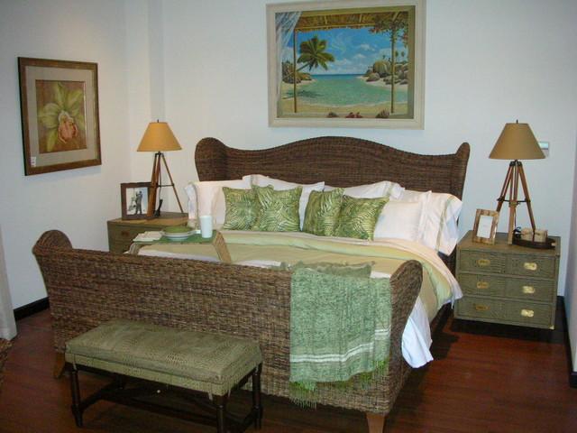 Malinche tropical-bedroom