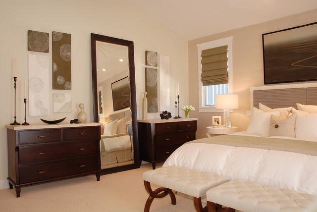 Manhattan Beach Sanctuary transitional-bedroom