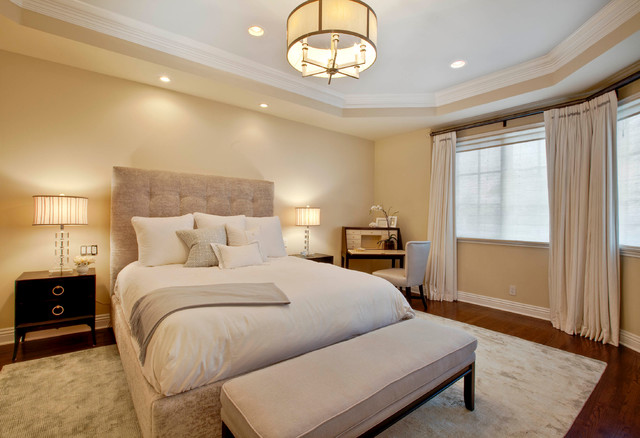 Manhattan Beach Hill Section Interior Design Traditional Bedroom Los Angeles By Luke