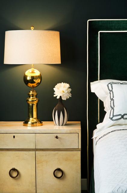 Manhattan Soho Bachelor's Residence contemporary-bedroom