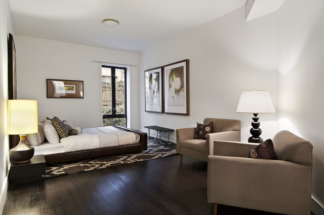 Manhattan Tri-Plex modern bedroom